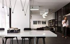 Trendy Black and White Apartment by Lera Katasonova Design