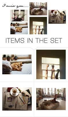 """""""I miss you"""" by melange-style ❤ liked on Polyvore featuring art"""