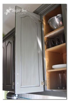 Exposed Hinge To Hidden Hinge Updating Cabinets