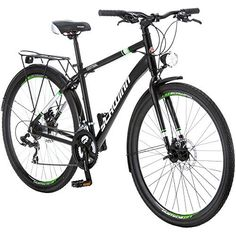 Black 700c Central Commuter Bike by Schwinn * Click image to review more details.