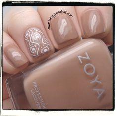 Tunay Na Mahal: @ZoyaNailPolish: Naturel Deux Collection - Spencer - Rich camel cream