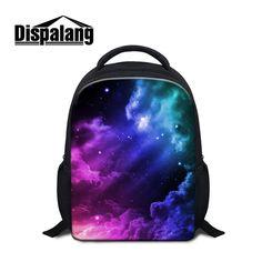 a0651ea07fd2 Dispalang Children School Bags Galaxy Printing Mini Backpacks For  Kindergarten Baby Book Bag for Boys Girls
