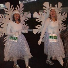 Snowflake costume, for if I ever do the Jingle Bell run