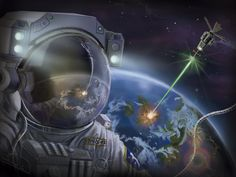 Astronaut created by Javi García. You can watch the creation process here   https://www.youtube.com/watch?v=bJAuSi7JPBk&feature=youtu.be%A0 It has been made in 4 hours.  I hope you like it. Greetings my friends.