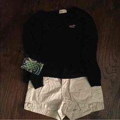 Entire outfit! Size 5 bottoms, small top, and Vera Bradley pouch. Will sell individual pieces if requested. Hollister Other