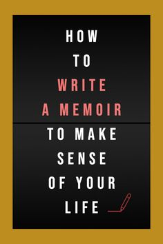 According to recent studies, writing your own memoir has various psychological benefits. Whether for private eyes or for public viewing, writing extensively about traumatic events helps you break free from the cage of anxiety. #writing #books #author