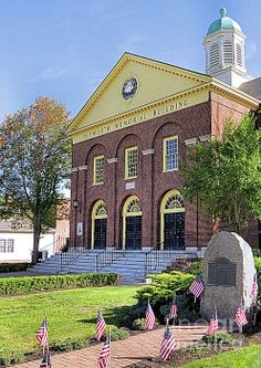 Plymouth Memorial Hall - Plymouth, MA - Janice Drew