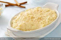 Dust off your crockpot and try making this scrumptious rice pudding that everyone will enjoy! Crock Pot Desserts, Slow Cooker Desserts, Crock Pot Cooking, Slow Cooker Recipes, Crockpot Recipes, Cooking Recipes, Crockpot Risotto, Crockpot Rice Pudding, Arborio Rice Pudding