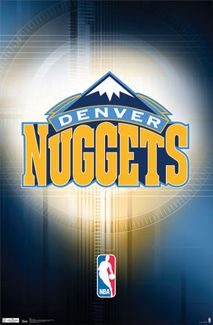 Denver Nuggets Official NBA Basketball Logo Poster - Costacos Sports Inc. I Love Basketball, Basketball Teams, Sports Teams, Sports Jerseys, Basketball Court, Denver Nuggets, Nba League, Nba Players, Cool Logo