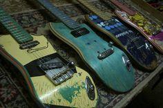 """Skateboard Guitars"" by Ezequiel Galasso"