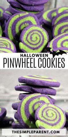 Halloween Treats To Make, Halloween Cookie Recipes, Halloween Cookies Decorated, Halloween Sugar Cookies, Halloween Baking, Halloween Desserts, Halloween Food For Party, Halloween Cakes, Party Desserts