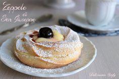 Le Zeppole di San Giuseppe al forno sono golosissimi dolcetti preparati per la festa del papà