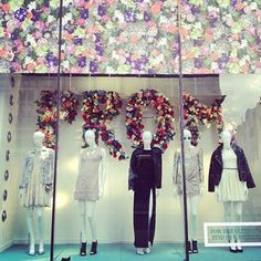 Check out this amazing prom window display at Topshop Oxford Street,