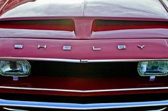Shelby Images by Jill Reger - Images of Shelby - 1968 Shelby Gt350 Hood Emblem