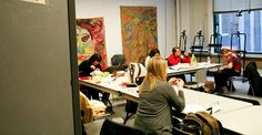 SAIC - Master of Arts in Art Therapy - School of the Art Institute of Chicago Art Institute Of Chicago, Art Therapy, Counseling, Schools, Peeps, Painting, Painting Art, School, Paintings