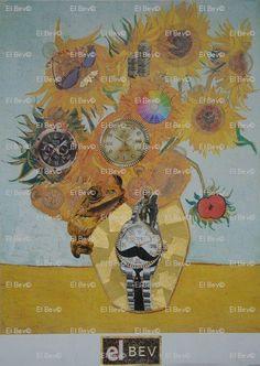 """""""Sundials"""" - """"Vincent Van Clocks"""""""