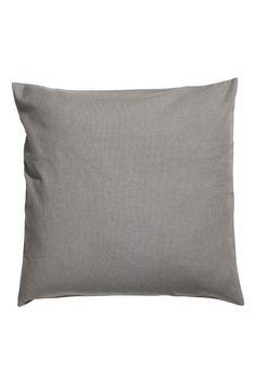 Husă de pernă de bumbac - Gri - HOME | H&M RO 1