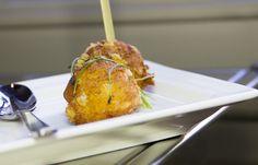 Crocchette di patate e Provolone Valpadana DOP dolce _ chef Fulvio Siccardi