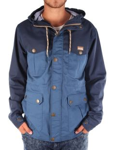 Segelprofi Parka [steelblue] // IRIEDAILY Jackets Men // FALL/WINTER 2014: http://www.iriedaily.de/men-id/men-jackets/ #iriedaily