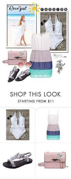 """""""Rosegal lady style"""" by newoutfit ❤ liked on Polyvore featuring dress, women and rosegal"""