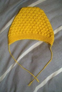 bobble hat - free vintage pattern (for when I finally learn how to knit.)