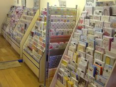 Loads of amazing greeting and birthday cards to choose from at Memory Lane in Titchfield.