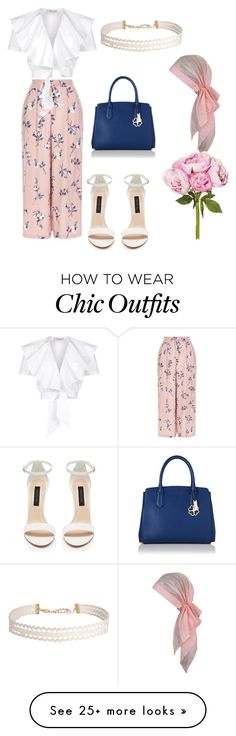 """Untitled #40"" by poisonivy72 on Polyvore featuring New Look, Temperley London, Humble Chic, Chanel, TrickyTrend and culottes"