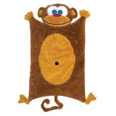 Sozo Monkey Cuddle Mat, Brown