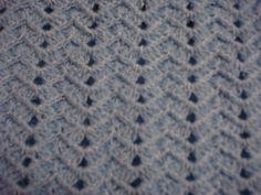 Para mi esta puntada es una de las mas bonitas que hay tejidas en gancho.