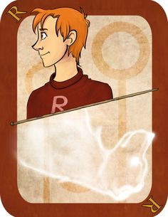 Ron Weasley, Harry Potter Card Deck | Imaginative Ink