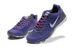 Nike Free Tr Fit Girls Club Purple Metallic Silver Dimgray 429785 500      #Purple  #Womens #Sneakers