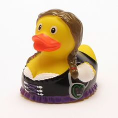 Rubber Duck Bavarian Girl