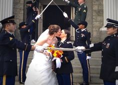 Wedding Photos Community Post: 46 Incredible Gay Wedding Photos That Will Make Your Heart Melt - Love is fabulous. Here's to gay marriage. Military Wedding, Lesbian Wedding, Lesbian Love, Lesbian Pride, Love And Marriage, Marriage Advice, Cute Gay, Gay Couple, Madame