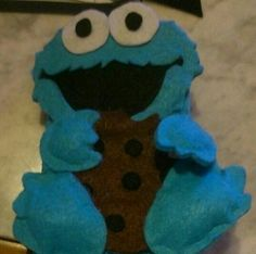 Funda monstruo de las galletas!!!