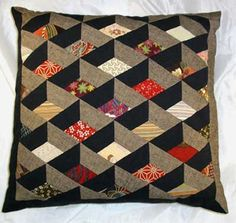 I love this Japanese box cushion from http://www.eurojapanlinks.com/Kits.html