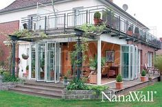NanaWall ®, Porch enclosure, Nana wall