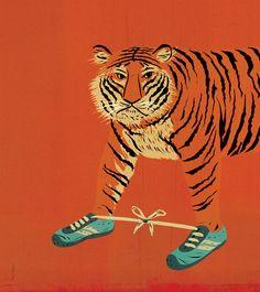 """tiger: j'imagine bien un proverbe """"la force entravée transforme le tigre en chaton"""" (genre """"otez les ailes à un papillon c'est une chenille"""""""