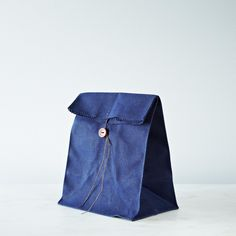 Waxed Canvas Lunch Bag on Food52
