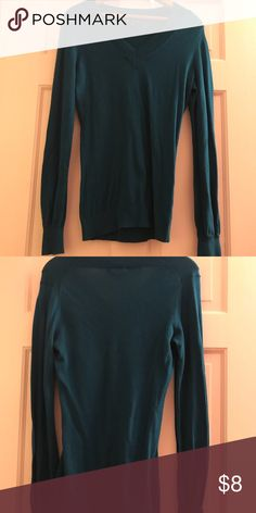 Gap Sweater Gap Sweater in Teal GAP Sweaters V-Necks