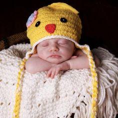 Spring Chick Baby Hat