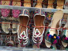 Shoes in Kathmandu, Nepal.