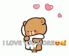 The perfect MilkAndMocha Hug Cute Animated GIF for your conversation. I Love You Images, Cute Love Pictures, Love You Gif, Cute Love Gif, Cute Cartoon Images, Cute Couple Cartoon, Cute Love Cartoons, Cute Cartoon Wallpapers, Big Hug Gif