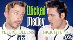 Wicked Medley - Peter Hollens & Nick PiteraSong Cover http://ift.tt/2vL954p