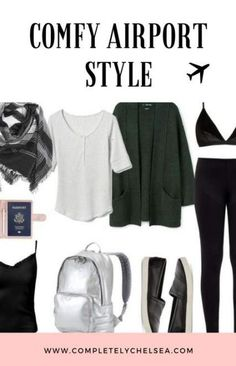 New travel plane outfit vacations 67 Ideas – travel outfit plane long flights Airport Style Travel Outfits, Comfy Travel Outfit, Winter Travel Outfit, Travel Style, Comfy Airport Outfit, Travel Fashion, Summer Travel, Outfit Winter, Summer Airport Outfit