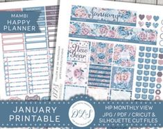 Happy Planner July Kit July Monthly Spread Happy Planner
