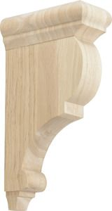 Decorite Wood Corbels 1-wc12-rw Rubberwood