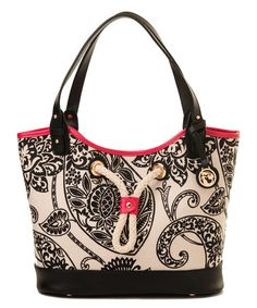 Look what I found on #zulily! Black Strachan Port to Port Tote #zulilyfinds