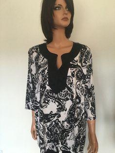 Ralph Lauren Women Plus Size 3X Cotton Tunic Designer Fashion Hip #LaurenRalphLauren #Tunic