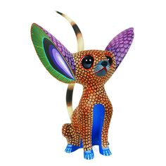 New Art Mexicano Ceramica 62 Ideas Animal Sculptures, Sculpture Art, Mexico Culture, Fennec Fox, Diy Art Projects, Witch Art, Colorful Animals, Expositions, Mexican Folk Art