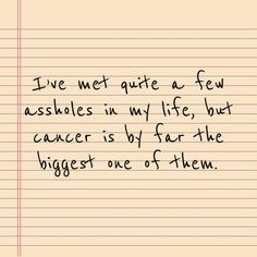 Every year across the world, approximately million women are diagnosed with breast cancer. If you're one of them, a natural cure for breast cancer should not be overlooked. Cancer Humor, Cancer Facts, Breast Cancer Quotes, Breast Cancer Survivor, Leukemia Quotes, Stupid Cancer, Kidney Cancer, Thyroid Cancer, Brain Cancer Awareness